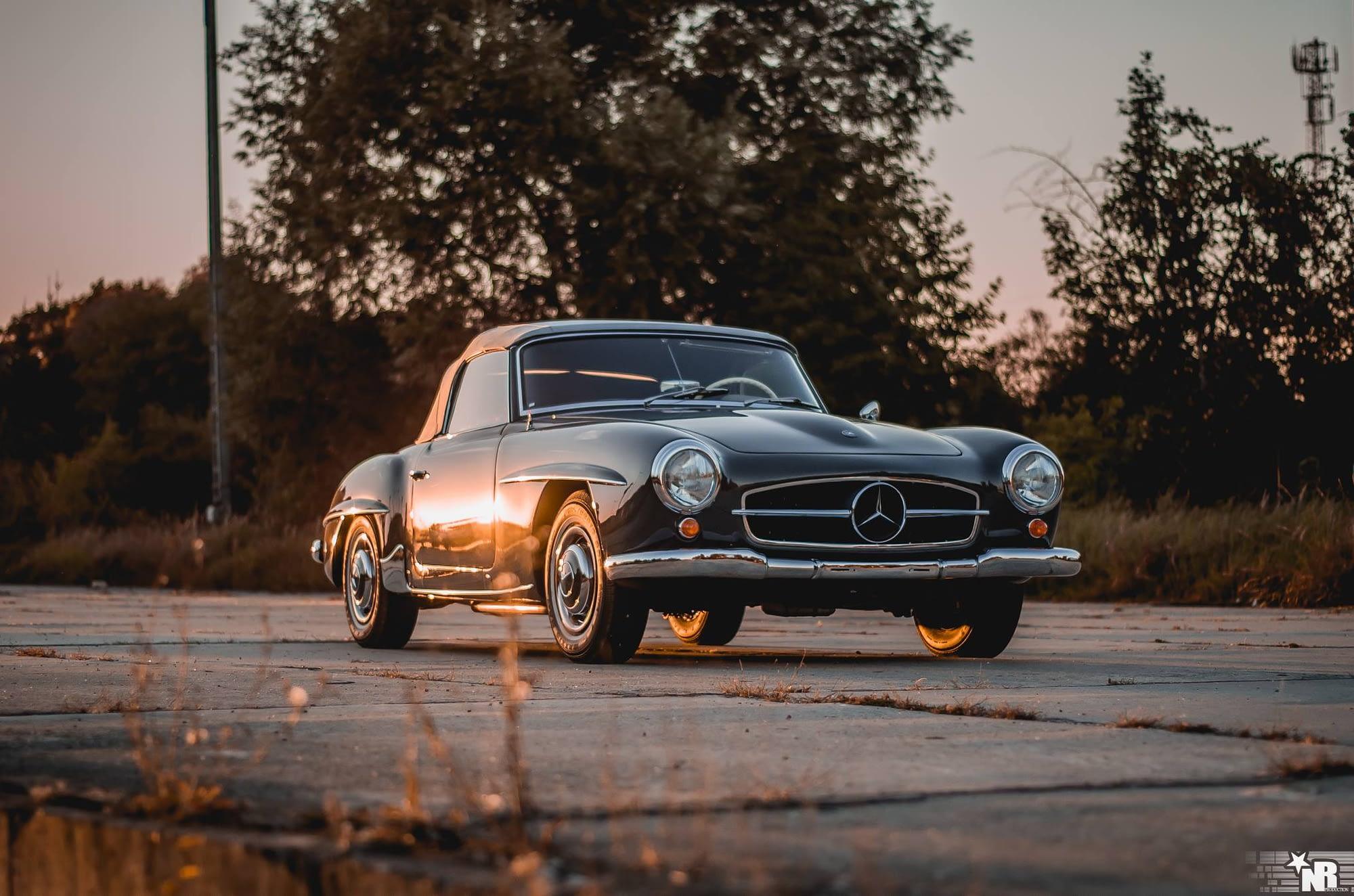 Mercedes 190 SL 1957r