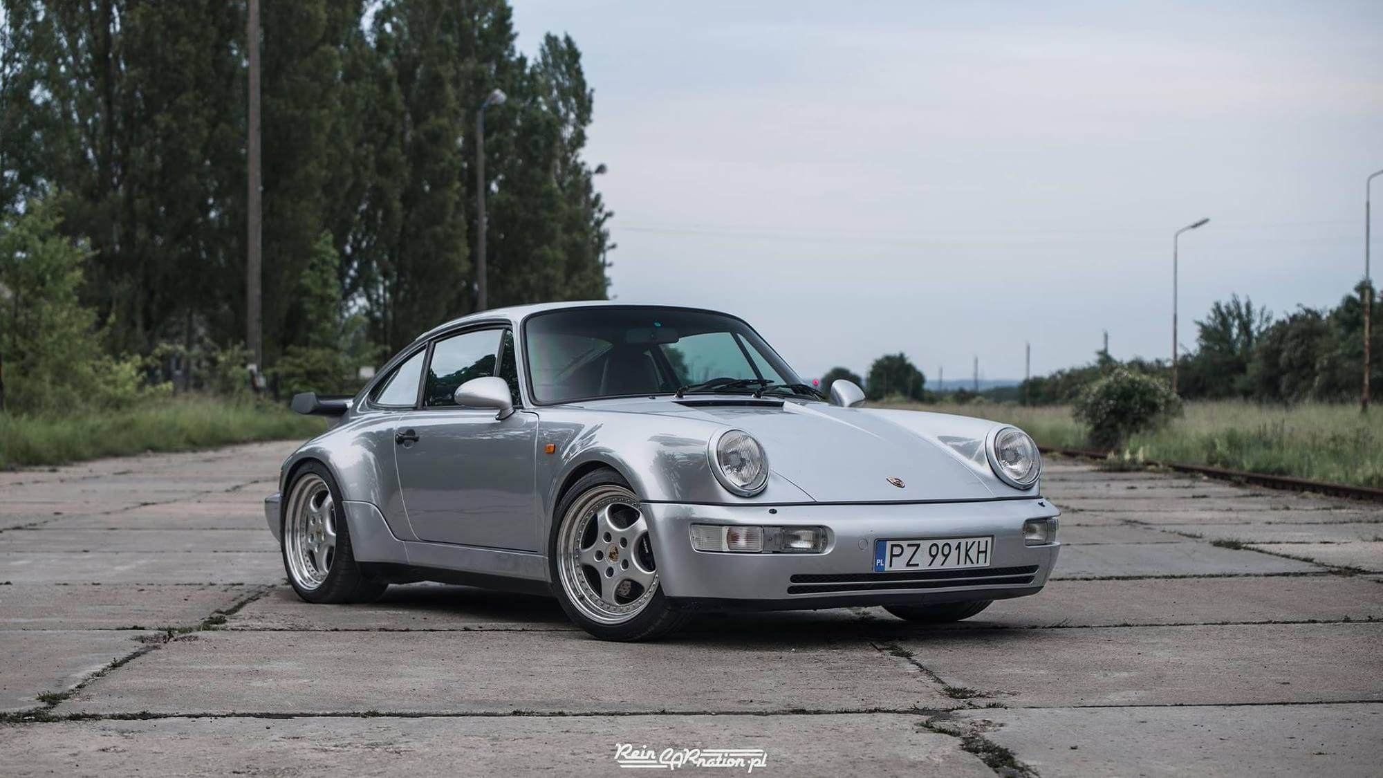 Porsche 911 3.3 turbo 1991r